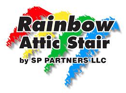 Rainbow Attic Stair